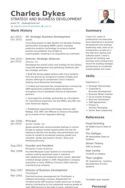 resume development officer business development manager resumes ...
