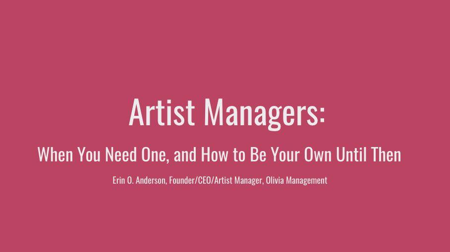 Blog — Olivia Management