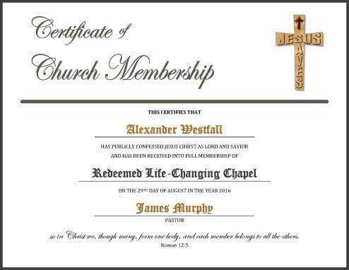 5 Certificate of Membership Templates [free download]