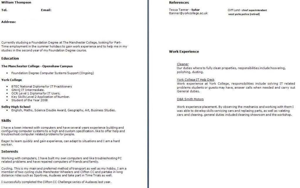 Download What To Put In A Cover Letter For A Cv ...