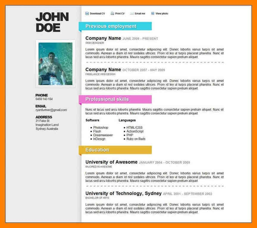 simple resume format in word excellent resume templates how to ...