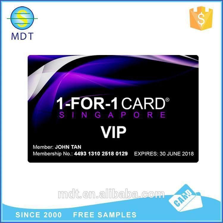 Sample Membership Card Black Color Finish New - Buy Sample ...