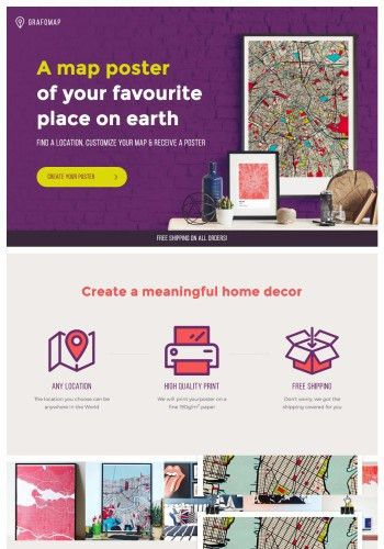 Examples of the Best Store Landing Page Designs