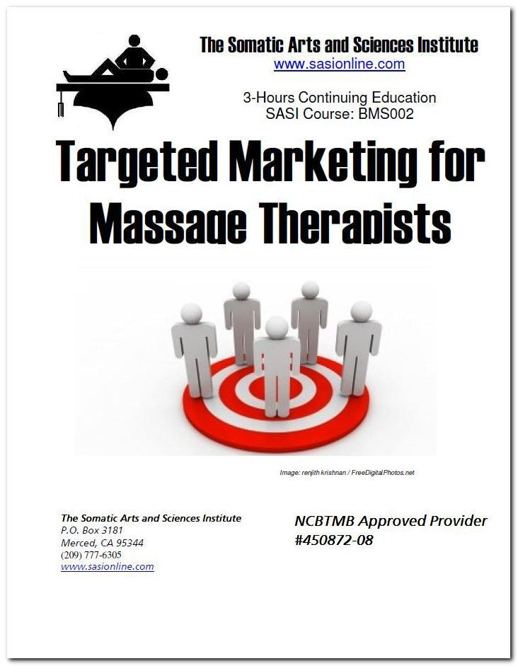 Massage Therapy CEUs | Targeted Marketing for Massage | The ...