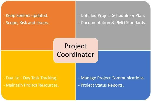 Project Coordinator : Roles, Responsibilities and Duties | Project ...