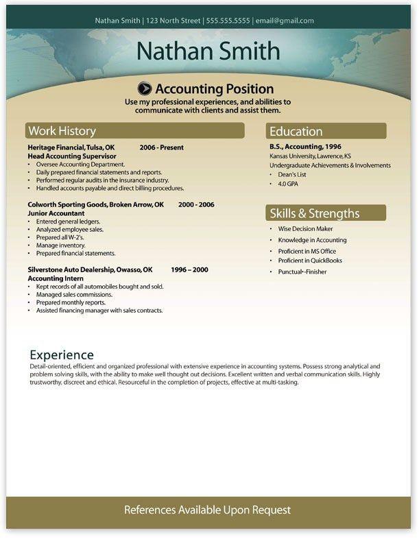 Free Resume Builder And Download | Resume Badak