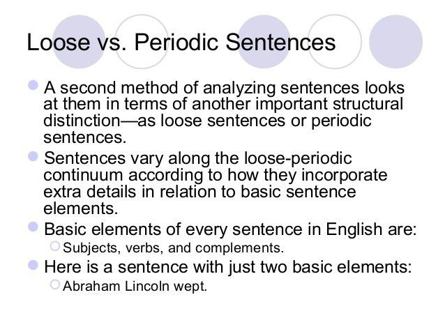 Phrases Clauses Sentence Types