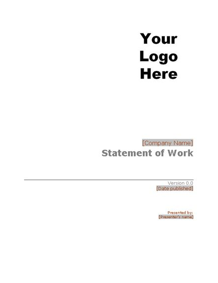 Statement of work - Office Templates