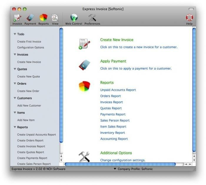 Free Invoice Software For Mac - Best Resume Collection