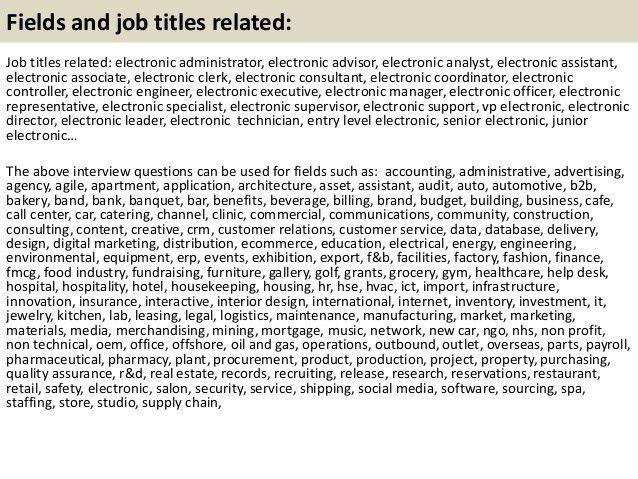 it technician job description sample