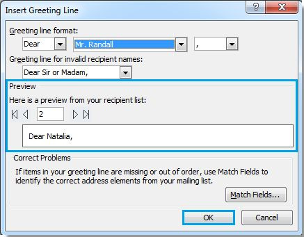 How to send personalized mass emails in Outlook?