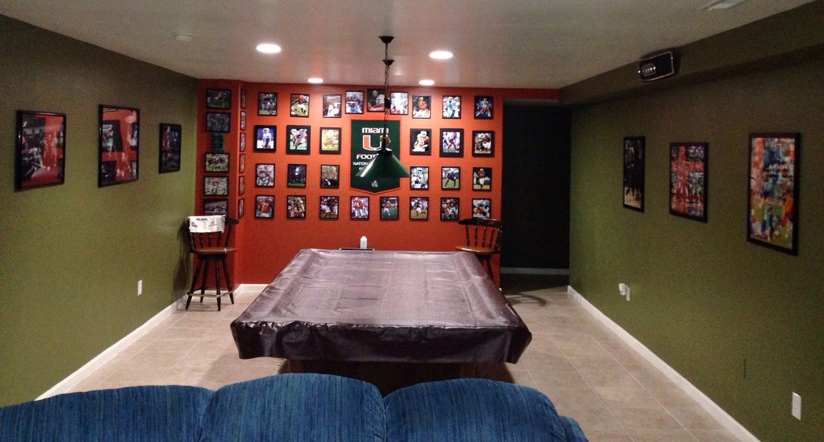 Easy To Do Man Cave Ideas : Simple decorate a wall and caves on pinterest