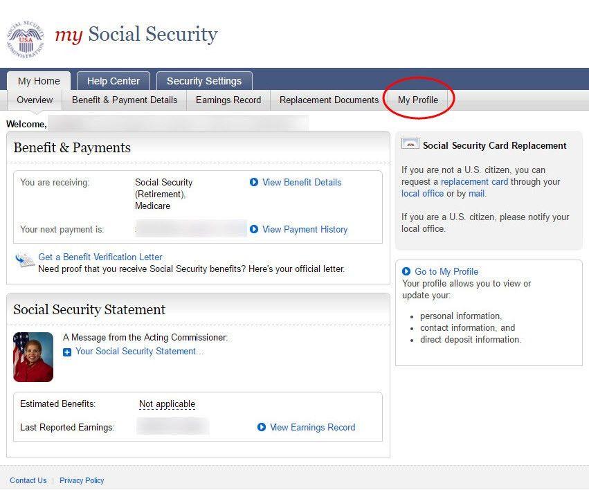 Social Security Change Of Address. Social Security Medicare Change ...
