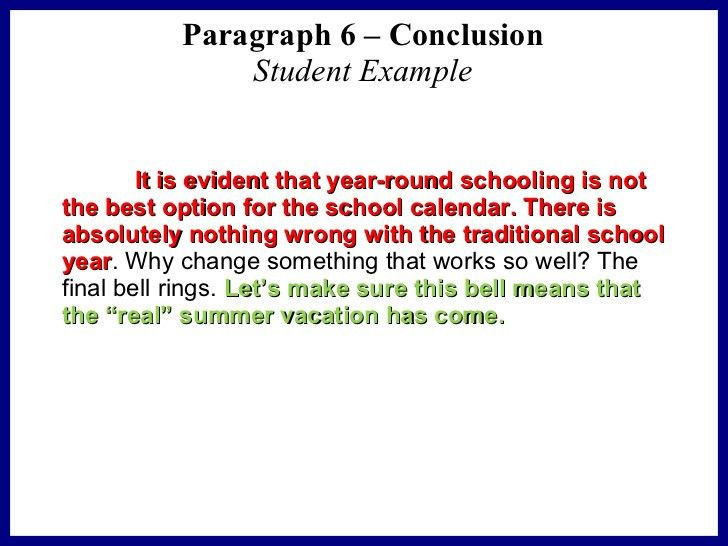 Sample persuasive essay for elementary students