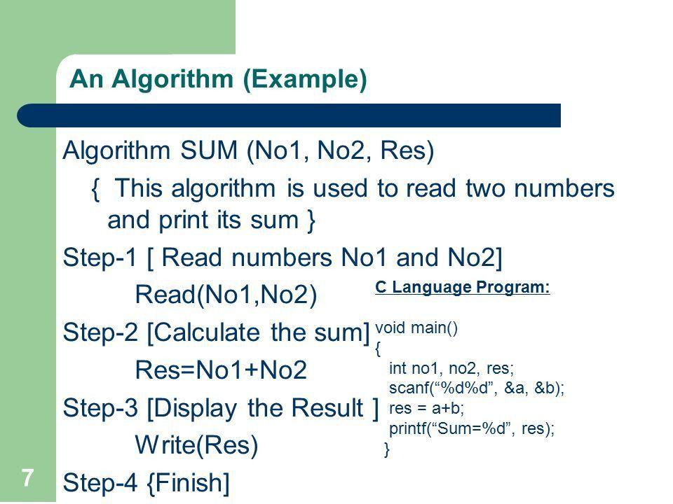 Lecture 2. Algorithms and Algorithm Convention ppt download
