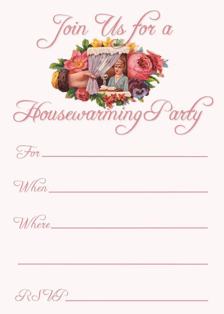 Pinterest'teki 25'den fazla en iyi Housewarming invitation ...