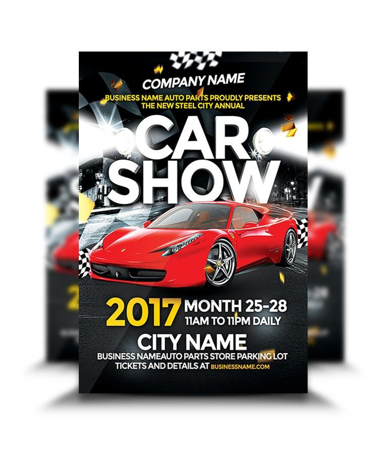 Car Show Flyer - graphicsflood.com