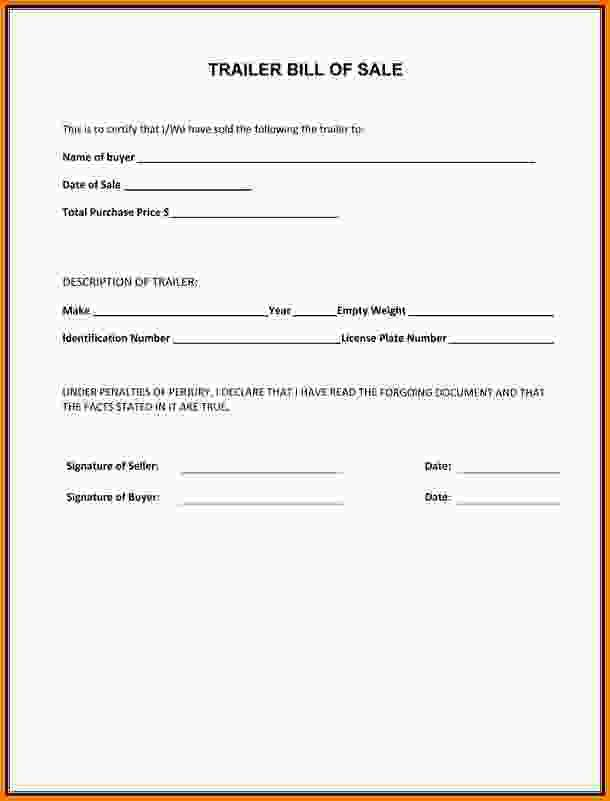 Bill Of Sale For A Boat.Boat Trailer Bill Of Sale Form.png ...