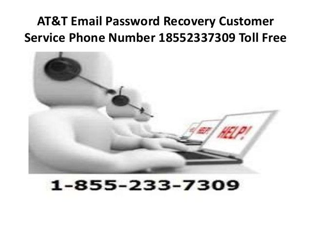 AT&T email password recovery Password Reset 185523373O9 customer serv…