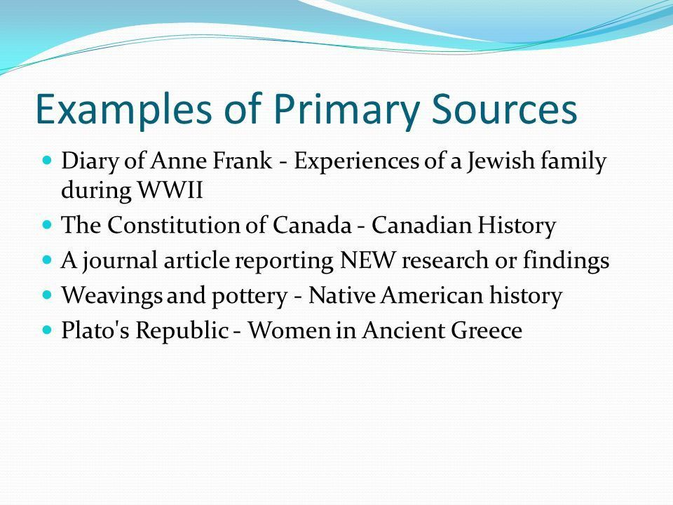 Primary Sources v Secondary Sources - ppt download
