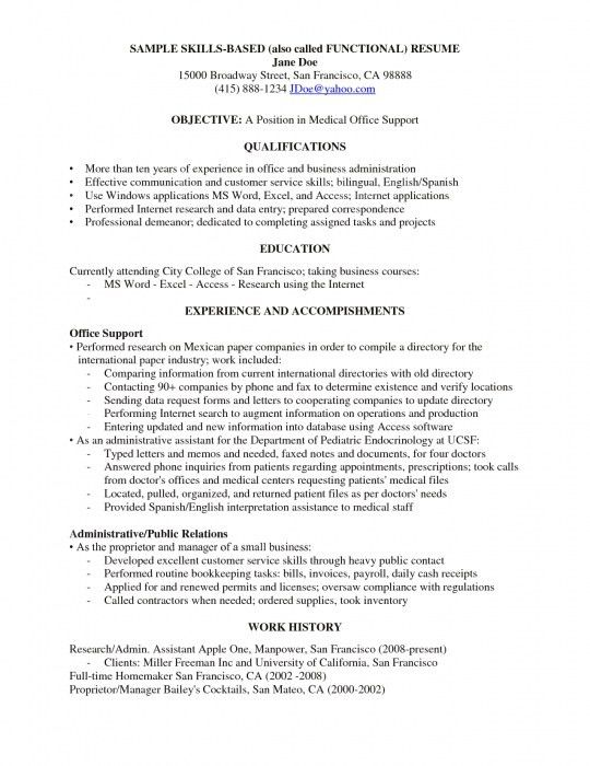 Winsome Communication Skills Resume 2 Example - CV Resume Ideas