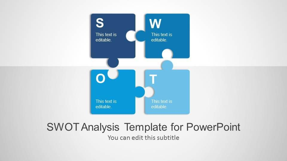 Free Editable SWOT Analysis PPT Template 20 Slides!