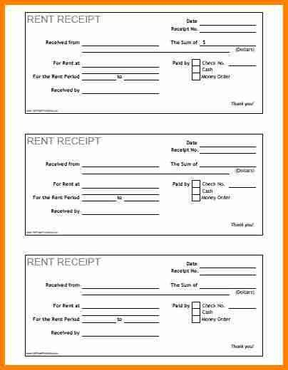 6+ free printable receipts | budget template
