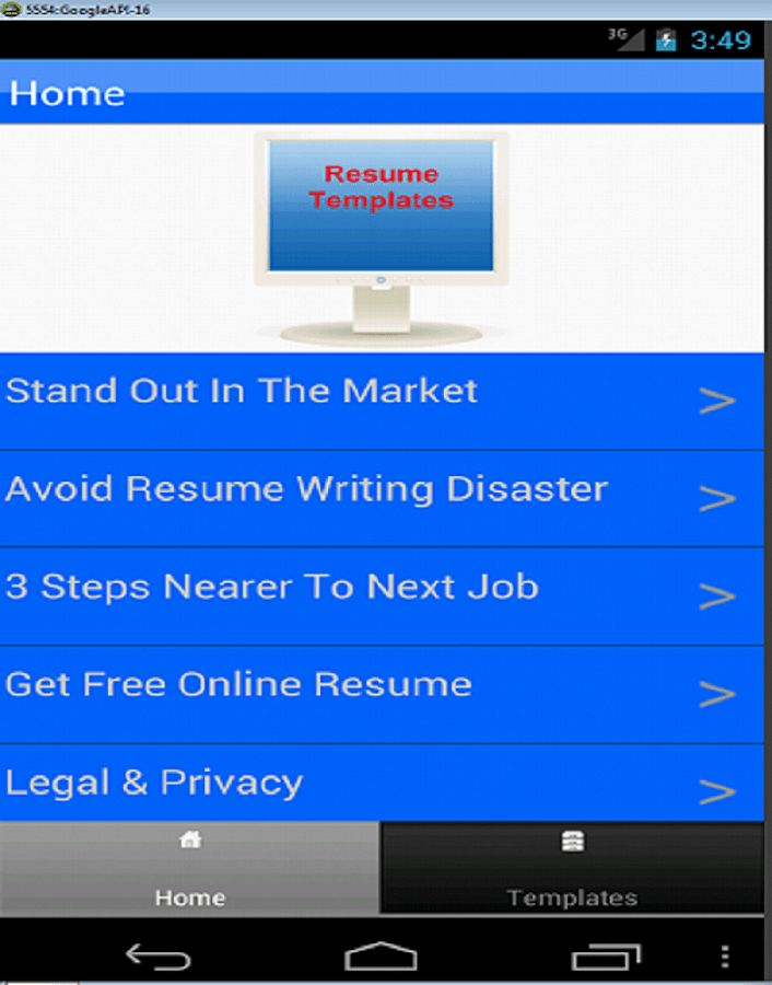 Resume Templates - Android Apps on Google Play