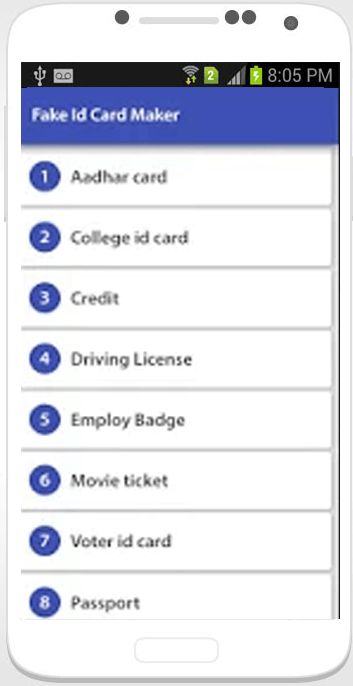 Fake ID Card Maker Prenk - Android Apps on Google Play