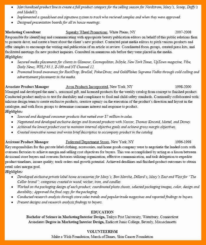 Resume For Macy S Sales Associates. retail sales associate resume ...