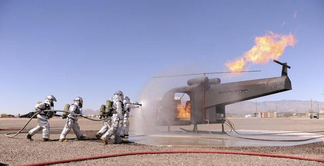MOS 7051 - Aircraft Rescue and Firefighting Specialist
