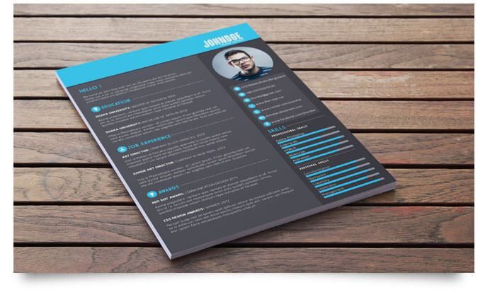 35 Best Free Creative Resume Templates - Tech Trainee