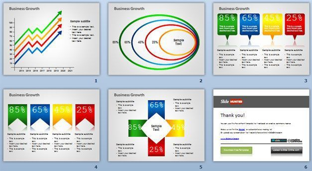 Free Conceptual Slides Template for Microsoft PowerPoint Presentations