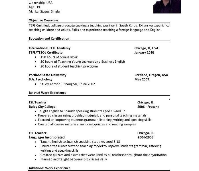 Sample Of Resumes For Jobs - Resume CV Cover Letter