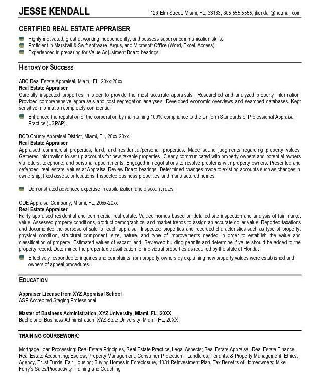 Real Estate Resume Sample 4 - uxhandy.com