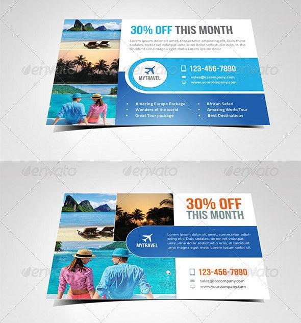 26+ Postcard Flyer Templates - Free PSD, ATN Format Download ...