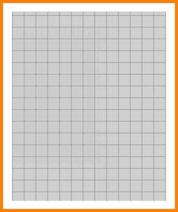 Graph Paper Free Template [Template.billybullock.us ]