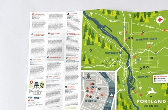 Multi page leaflet printing | Map and Cross Fold Leaflets | A ...