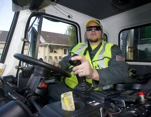 New garbage trucks: Cleaner air and quieter streets in West Valley ...