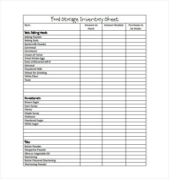 Inventory Template – 20+ Free Word, Excel, PDF Documents Download ...