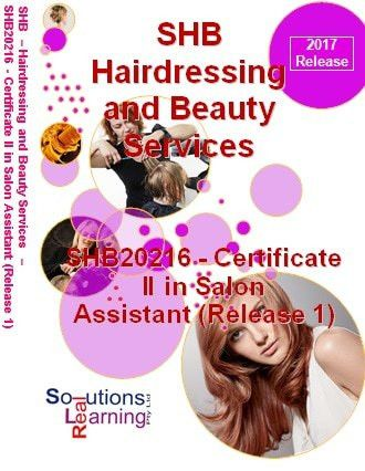 SHB20216 - Certificate II in Salon Assistant