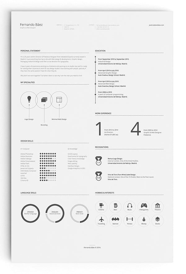 10 All time Best Free Resume (CV) Templates in Word, PSD, Ai ...