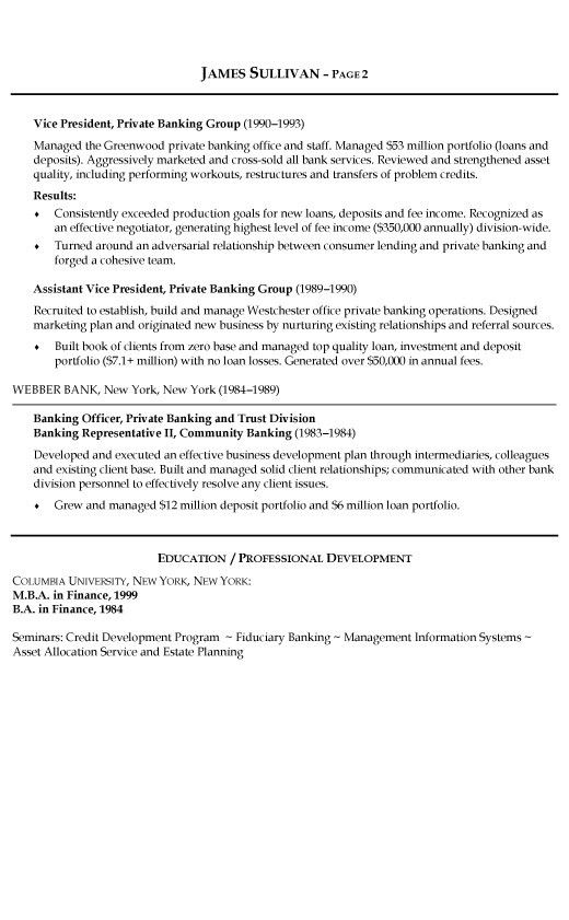 Personal Resume Example. Example Of Personal Resume Curriculum ...