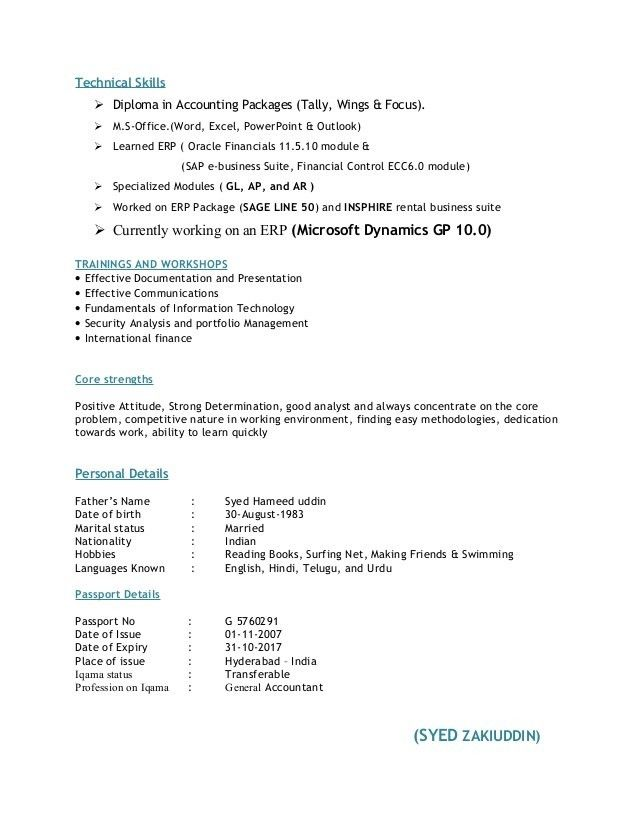 Download Accounting Skills Resume | Haadyaooverbayresort.com  Accounting Skills Resume