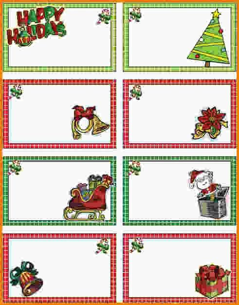 Christmas Tags Template.Christmas Gift Tags 628702.jpg ...