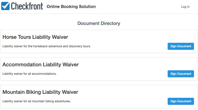 Waivers & Documents