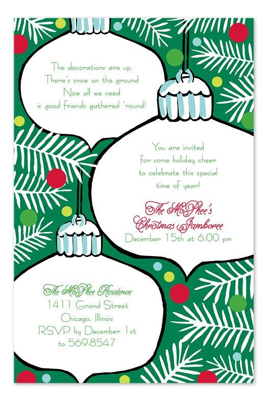 Invitation Wording Samples by InvitationConsultants.com - Family ...