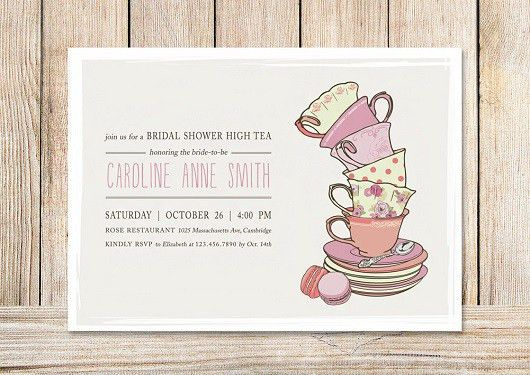 Bridal Shower Invitation Templates | Party Invitation Ideas
