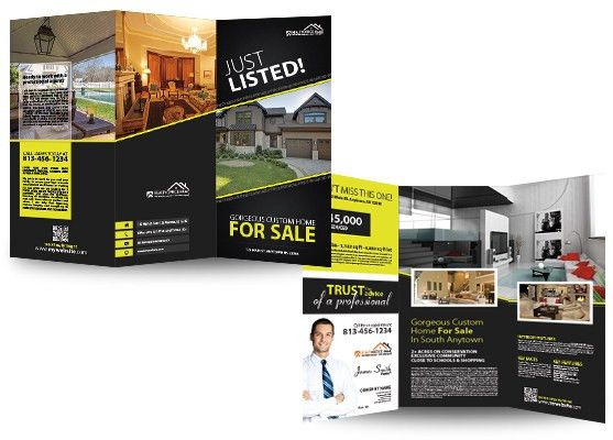 Real Estate Brochures | Real Estate Agent Brochures | Realtor ...