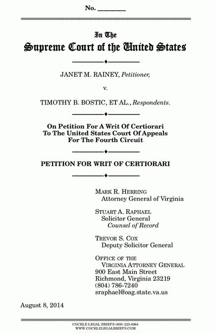 Legal Writing Tips: Petitioning the Supreme Court